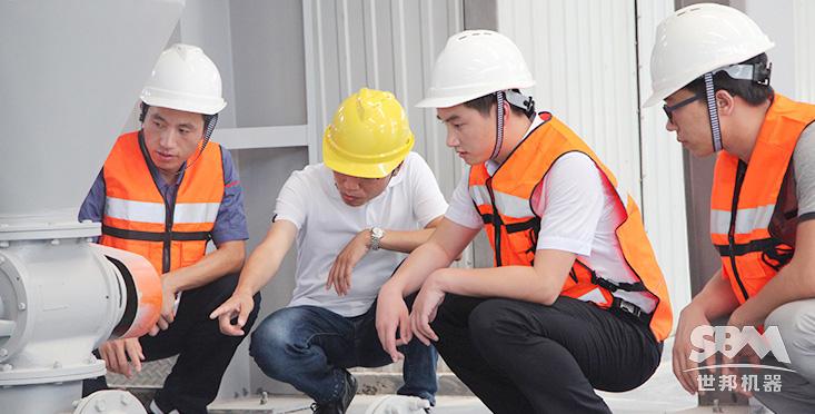 全程安装调试、培训指导